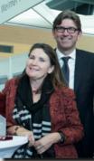 Verleger Dr. Wolfram Weimer und Verlegerin Christiane Goetz-Weimer